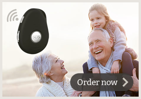 wireless mobile personal alarm system for elderly